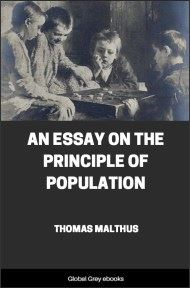 cover page for the Global Grey edition of An Essay on the Principle of Population by Thomas Malthus