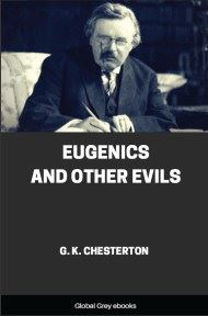 cover page for the Global Grey edition of Eugenics and Other Evils by G. K. Chesterton
