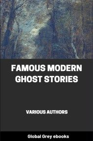 cover page for the Global Grey edition of Famous Modern Ghost Stories by Various