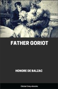 cover page for the Global Grey edition of Father Goriot by Honore de Balzac