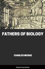 cover page for the Global Grey edition of Fathers of Biology by Charles McRae