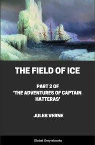 cover page for the Global Grey edition of The Field of Ice by Jules Verne