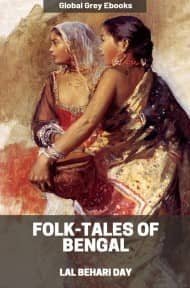 cover page for the Global Grey edition of Folk-Tales of Bengal by Lal Behari Day
