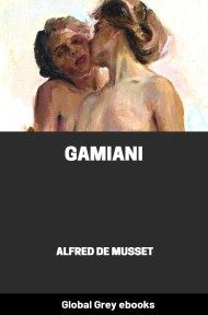 cover page for the Global Grey edition of Gamiani by Alfred de Musset