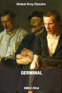 cover page for the Global Grey edition of Germinal by Emile Zola