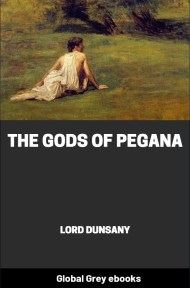 cover page for the Global Grey edition of The Gods of Pegana by Lord Dunsany