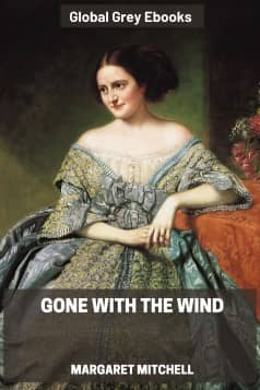 cover page for the Global Grey edition of Gone with the Wind by Margaret Mitchell