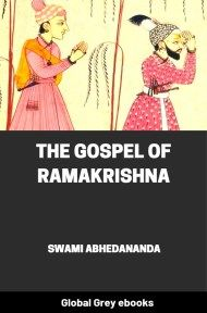 cover page for the Global Grey edition of The Gospel of Ramakrishna by Swami Abhedananda