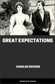 cover page for the Global Grey edition of Great Expectations By Charles Dickens