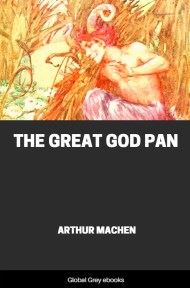 cover page for the Global Grey edition of The Great God Pan by Arthur Machen