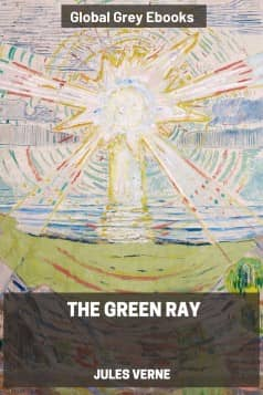 The Green Ray, by Jules Verne - click to see full size image