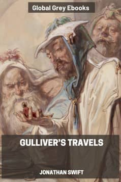cover page for the Global Grey edition of Gulliver's Travels by Jonathan Swift