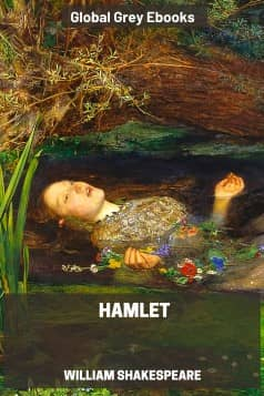 cover page for the Global Grey edition of Hamlet by William Shakespeare