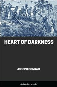 cover page for the Global Grey edition of Heart of Darkness By Joseph Conrad