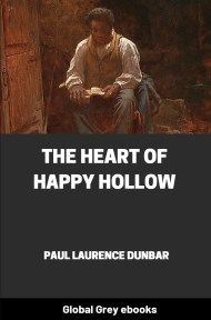 cover page for the Global Grey edition of The Heart of Happy Hollow by Paul Laurence Dunbar