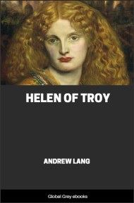 cover page for the Global Grey edition of Helen of Troy by Andrew Lang
