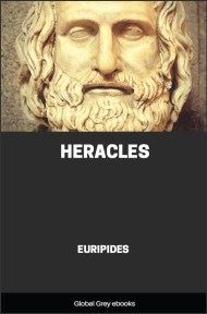 cover page for the Global Grey edition of Heracles by Euripides