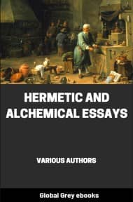 cover page for the Global Grey edition of Hermetic and Alchemical Essays by Various Authors