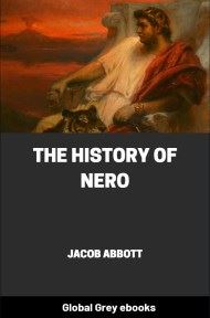 cover page for the Global Grey edition of The History of Nero by Jacob Abbott