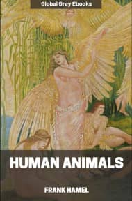 cover page for the Global Grey edition of Human Animals by Frank Hamel