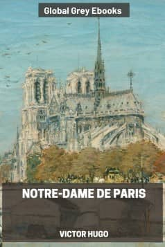 cover page for the Global Grey edition of Notre-Dame de Paris by Victor Hugo