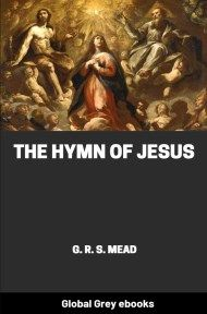 cover page for the Global Grey edition of The Hymn of Jesus by G. R. S. Mead