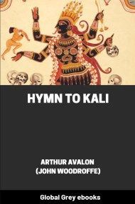 cover page for the Global Grey edition of Hymn to Kali by Arthur Avalon