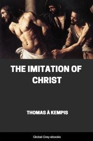 cover page for the Global Grey edition of The Imitation of Christ by Thomas à Kempis