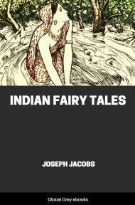 cover page for the Global Grey edition of Indian Fairy Tales by Joseph Jacobs