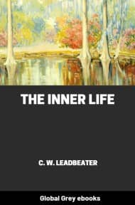cover page for the Global Grey edition of The Inner Life by C. W. Leadbeater