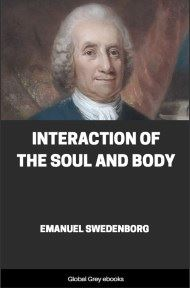cover page for the Global Grey edition of Interaction of the Soul and Body by Emanuel Swedenborg
