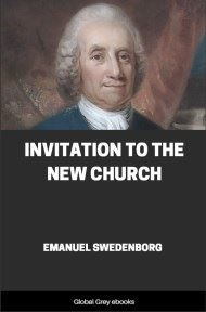 cover page for the Global Grey edition of Invitation to the New Church by Emanuel Swedenborg