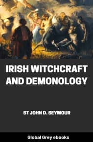 cover page for the Global Grey edition of Irish Witchcraft and Demonology by St John D. Seymour