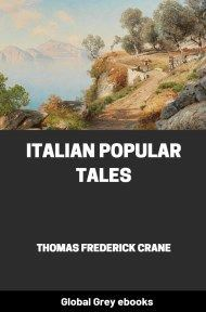 cover page for the Global Grey edition of Italian Popular Tales by Thomas Frederick Crane