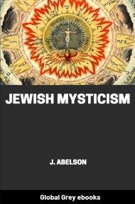 cover page for the Global Grey edition of Jewish Mysticism by J. Abelson