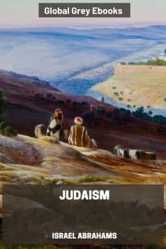 cover page for the Global Grey edition of Judaism by Israel Abrahams