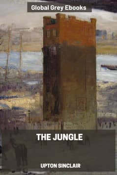 cover page for the Global Grey edition of The Jungle by Upton Sinclair