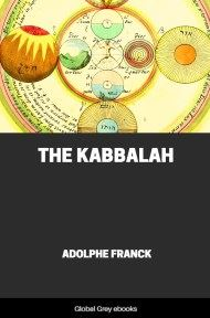 cover page for the Global Grey edition of The Kabbalah by Adolphe Franck