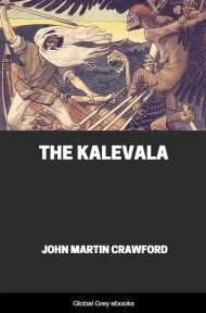 cover page for the Global Grey edition of The Kalevala by John Martin Crawford