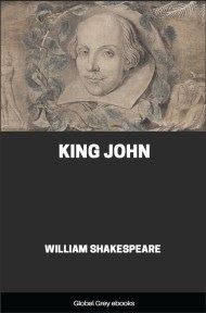 cover page for the Global Grey edition of King John by William Shakespeare