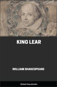 cover page for the Global Grey edition of King Lear by William Shakespeare