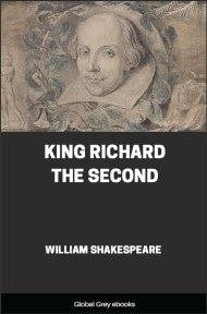 cover page for the Global Grey edition of King Richard the Second by William Shakespeare