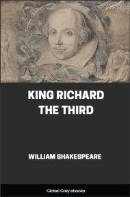 cover page for the Global Grey edition of King Richard the Third by William Shakespeare