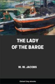 cover page for the Global Grey edition of The Lady of the Barge by W. W. Jacobs