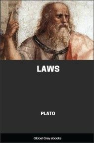 cover page for the Global Grey edition of Laws by Plato