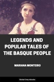 cover page for the Global Grey edition of Legends and Popular Tales of the Basque People by Mariana Monteiro