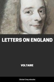 cover page for the Global Grey edition of Letters on England by Voltaire