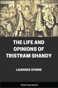 cover page for the Global Grey edition of The Life and Opinions of Tristram Shandy by Laurence Sterne