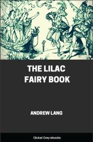 cover page for the Global Grey edition of The Lilac Fairy Book by Andrew Lang