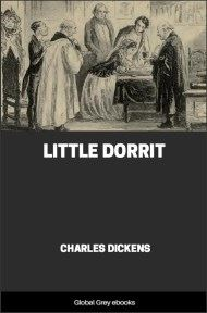 cover page for the Global Grey edition of Little Dorrit by Charles Dickens